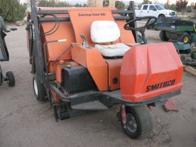 Smithco Sweep Star 60 Sweeper Turf Riding Sweepstar