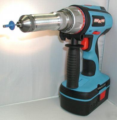 Cordless 24v Pop Type Rivet Tool For 1 8 Quot 5 32 Quot Amp 3 16 Quot