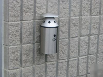 Commercial Ashtrays Act2003 Outdoor Wall Mounted