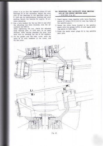 Zetor 5211  45 6211  45 7211  45 Tractor Workshop Manual