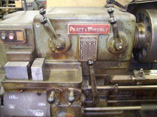 Pratt Amp Whitney Horizontal Engine Lathe 16 X 54