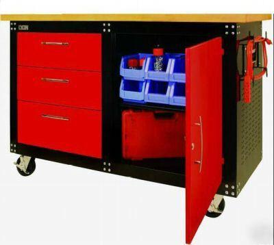 lyon cabinet style work center. Black Bedroom Furniture Sets. Home Design Ideas