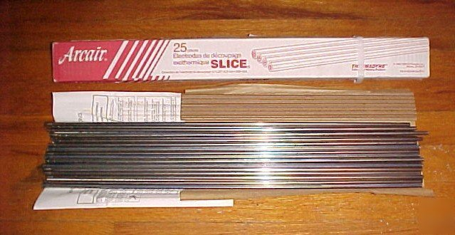 Arcair Slice Rods 43 049 002 1 4x22 Uncoated 25 Pc