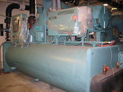 York 400    ton    centrifugal liquid    chiller