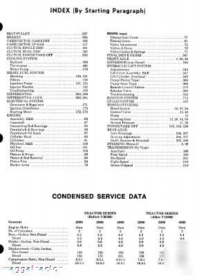 ford 2000 tractor service manual